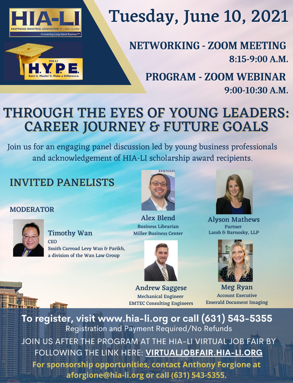 Flyer - Through the Eyes of Young Leaders: Career Journey & Future Goals